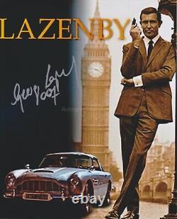 George Lazenby HAND Signed 8x10 Photo Autograph James Bond OHMSS 007 (E)