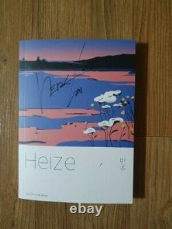 HEIZE Promo 5th Mini Promo Album Autographed Hand Signed Real Polaroids