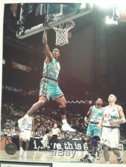 HOT NBA ALL-STARS MICHAEL JORDAN Hand-Signed Autographed 8x10 Photo with COA