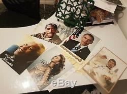 Hand Signed 2 Pac, Nelson Mandela, Barack Obama, Al Pacino, Beyonce