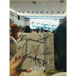 Hand signed WayV V autographed 1st SOLO album Take Off K-POP 062019