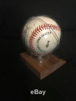 Hank Aaron Hand Signed Baseball Autographed Ball