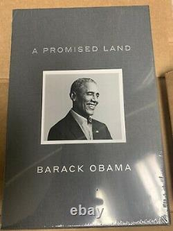 IN HAND - Barack Obama A Promised Land Deluxe Signed Edition Book NEW 2020