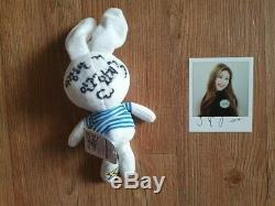 ITZY Broadcast Event Snaps Polaroid Autographed Real Hand Signed CHAERYEONG
