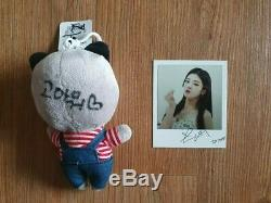 ITZY MBC Broadcast Event Prize Snaps Polaroid Autographed Real Hand Signed LIA