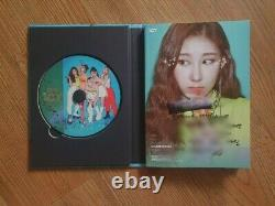 JYP ITZY Promo ICY Album Autographed Hand Signed Message