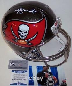 Jameis Winston Autographed Hand Signed Riddell Bucs Full Size Helmet Bas Beckett