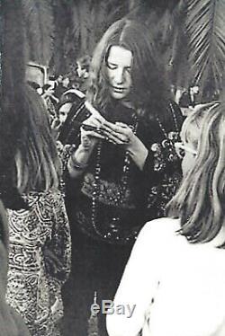 Janis Joplin original Autograph hand signed signature COA Woodstock Hippie 1969