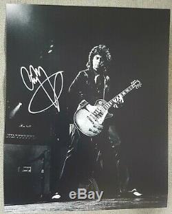 Jimmy Page Led Zeppelin Original Hand Signed Autographed Photo COA