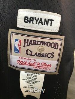 KOBE BRYANT BLACK MAMBA JERSEY #8 HAND SIGNED AUTOGRAPHED Hardwood Classic Ness