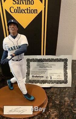Ken Griffey Jr Hand Signed Autographed Salvino Figure /250 COA! Brand New In Box