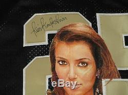 Kim Kardashian Signed Autographed Hand Painted Reggie Bush Saints Jersey. Psa