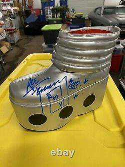 Kiss Ace Frehley Spaceman Autographed Boot Hand Signed