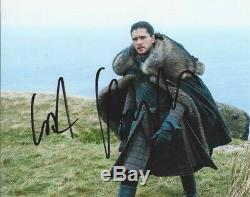 Kit Harrington HAND SIGNED 10x8 Game Of Thrones Photograph EXACT PROOF + COA