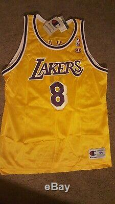 Kobe Bryant Autographed Hand Signed Rare Silver Sharpie Lakers Gold Jersey #8