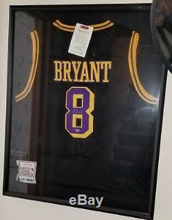 Kobe Bryant Black Mamba Jersey #8 Hand Signed Autographed Coa/w Hologram