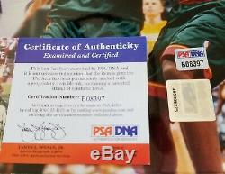 Kobe Bryant Hand Signed Autographed 16x20 #8 Vintage One Hand Dunk PSA/DNA