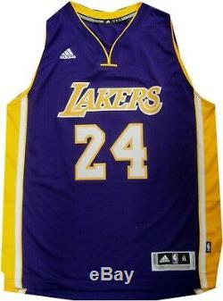 Kobe Bryant Hand Signed Autographed Swingman Jersey Purple LA Lakers Panini PA