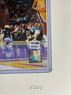 Kobe Bryant hand signed autographed 16x20 photo L. A. Lakers with Shaq PSA/DNA