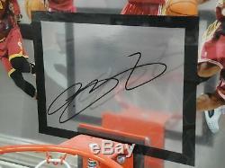 LeBron James Hand Signed Autographed Custom Framed Backboard /123 UDA