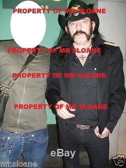 Lemmy Kilmister Motorhead Hand Signed CD Album Sleeve Uacc Registered Dealers