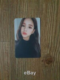 Loona Hash Limited Promo Album Autographed Hand Signed Photocard
