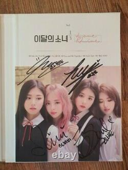 Loona Love & Live 1/3 Promo Album Autographed Hand Signed