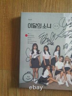 Loona ++ Mimi Promo Album Autographed Hand Signed Message
