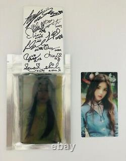 Loona Monthly girl Kpop hand signed Autographed official goods