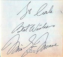 MARILYN MONROE SCARCE AUTHENTIC HAND SIGNED VINTAGE ORIGINAL AUTOGRAPH 1959s