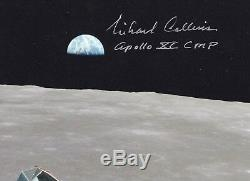 MICHAEL COLLINS APOLLO 11 EAGLE ASCENT HAND SIGNED 8 x 10 PHOTO WithCOA MINT