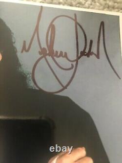 MICHAEL JACKSON HAND SIGNED PROMO 8x10 AUTOGRAPH / BLACK OR WHITE SHOOT PASS