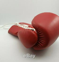 MIKE TYSON HAND SIGNED Autographed OFFICIAL BOXING GLOVE UNFRAMED Genuine 100%