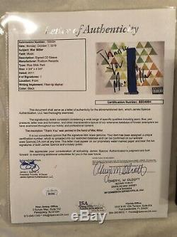 Mac Miller Hand SIGNED Blue Slide Park CD Framed AUTOGRAPH Rare JSA COA Letter