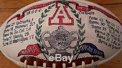 Memorabilia Alabama 1978 SEC autographed, hand painted, Sugar Bowl. Penn State v