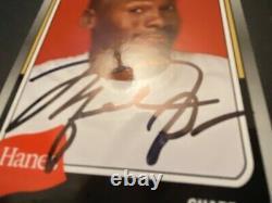 Michael Jordan Hand-Signed AUTO Trading Card 2019 FLEER Hanes #MJ-11 Autograph