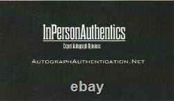 Michael Jordan & Larry Bird Autograph 8x10 Photo with COA Hand Signed