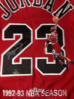 Michael Jordan UDA Upper Deck Signed Autograph Hand Painted 1997-98 Jersey 1/1