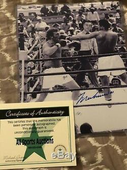 Muhammad Ali autographed 8x10 Photo, hand signed, authentic, COA