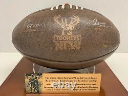 NRL Norm Provan Arthur Summons Hand Signed Vintage NRL Legends Football Rare