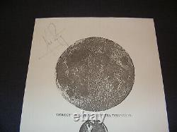 Neil Armstrong Hand-Signed Copy of His Honorary GSA Fellowship Award NASA
