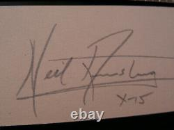 Neil Armstrong HandSigned Early 60s Autograph X-15 Apollo 11 First Man Moon NASA