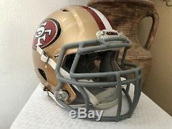 Nick Bosa Hand Signed Autograph Riddell Speed 49er's Football Helmet