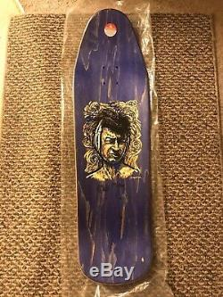 Not NOS autographed/hand #d Frankie Hill Van Gogh Ear Skateboard Powell Peralta