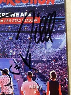 One Direction Hand Signed Photograph Genuine Autograph Zayn Harry Styles 1d Rare