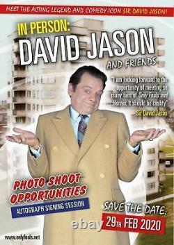 Only Fools and Horses David Jason Hand Signed Large 16x12 Photograph (Batman)