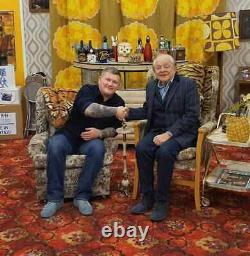 Only Fools and Horses David Jason Hand Signed Large 16x12 Photograph Flats