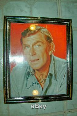 Original Hand-Signed Autographs of the Entire Cast of The Andy Griffith Show