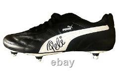 Pele Brazil Hand Signed Autographed Puma Soccer Cleat Shoe With Coa Very Rare