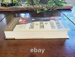 President Barack Obama HAND Signed The Audacity of Hope Book JSA LOA